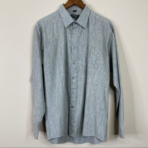 Versace Classic Long Sleeve Mens Button Down 18